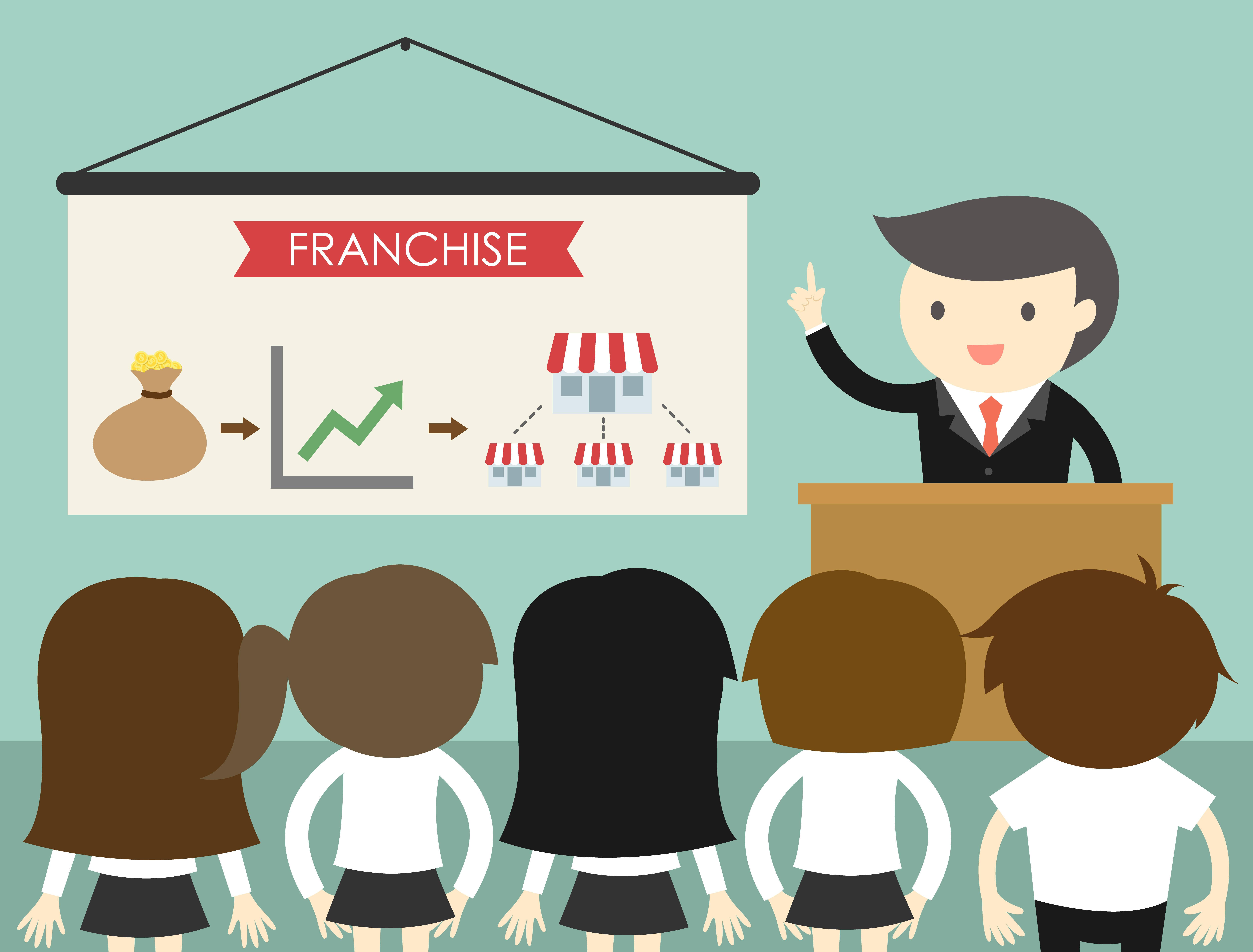 Porqué las franquicias tienen más éxito que los negocios independientes
